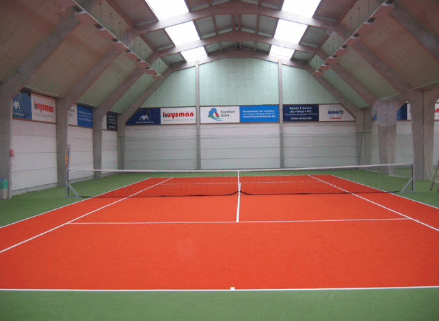 Indoor tennishal eeklo